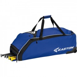 Easton - A159032RY - Easton E610W Carrying Case (Roller) for Baseball Bat, Shoes, Baseball, Gear, Key, Wallet - Royal - Carrying Strap - 12 Height x 14.5 Width x 36 Depth