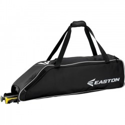 Easton - A159033BK - Easton E310W Carrying Case (Roller) for Gear, Bat, Baseball - Black - Carrying Strap - 9 Height x 9 Width x 36 Depth