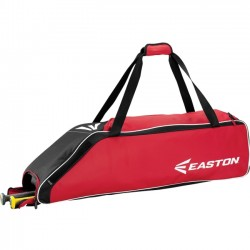 Easton - A159033RD - Easton E310W Carrying Case (Roller) for Gear, Bat, Baseball - Red - Carrying Strap - 9 Height x 9 Width x 36 Depth