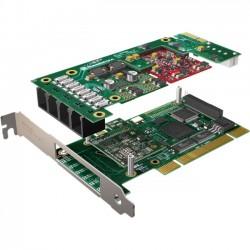 Sangoma - A200BRMD - Sangoma A200BRMD Voice Board - 4 x RJ-11 FXS/FXO - PCI - 2U