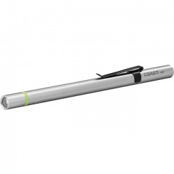 Coast Cutlery - A9R - Coast Products Rechargeable Inspection Penlight - Stainless SteelBody - Silver