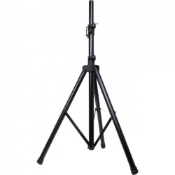 QFX - S-14 - QFX Tripod PA Stand - 70 Height - Floor - Black