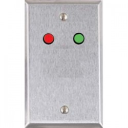 Alarm Controls - RP9WH - Alarm Controls RP-9 Faceplate - 1-gang - White