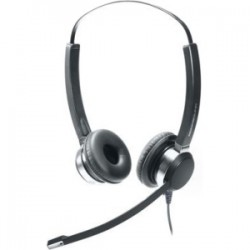 Addasound - CRYSTAL 2822 - ADDASOUND Crystal 2822 Headset - Stereo - Wired - Over-the-head - Binaural - Supra-aural - Noise Canceling