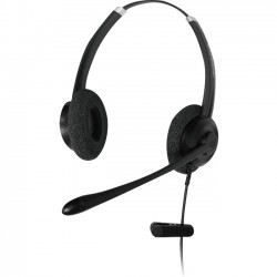Addasound - CRYSTAL SR2702 - ADDASOUND Crystal SR2702 Headset - Stereo - USB - Wired - Over-the-head - Binaural - Supra-aural - Noise Canceling