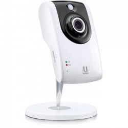 Uniden - APPCAM 24HD - Uniden Network Camera - Color - 25 ft Night Vision - H.264 - 1280 x 720 - CMOS - Cable, Wireless