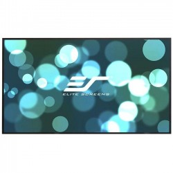Elite Screens - AR100WH2 - Elite Screens Aeon AR100WH2 Fixed Frame Projection Screen - 100 - 16:9 - Wall Mount - 49.2 x 87.3 - CineWhite