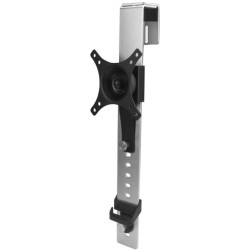 StarTech - ARMCBCL - StarTech.com Single-Monitor Mount - Cubicle Hanger with Height Adjustment - Supports a single monitor up to 30 (20 lb. / 9 kg) - 30 Screen Support - 19.90 lb Load Capacity - Black