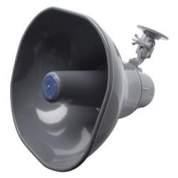 Atlas Sound - AP30 - Atlas Sound AP-30 30 W RMS Indoor/Outdoor Speaker - Gray - 30 Hz to 12 kHz - 8 Ohm - 108 dB Sensitivity - Strap Mount, Surface Mount
