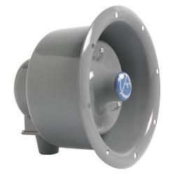 Atlas Sound - APF15TU - Atlas Sound APF-15TU 15 W RMS Indoor/Outdoor Speaker - Gray - 600 Hz to 14 kHz - 104 dB Sensitivity - Flush Mount, Wall Mountable, Ceiling Mountable