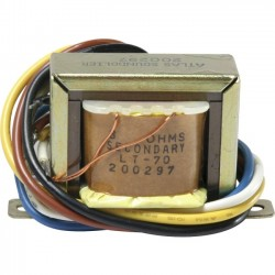 Atlas Sound - LT70 - Atlas Sound LT-70 Impedance Matching Transformer - 5 VA - 70.7 V AC Input