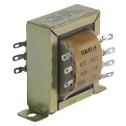 Atlas Sound - T10 - Atlas Sound T10 Impedance Matching Transformer - 15 VA - 70.7 V AC, 25 V AC Input