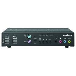 Matrox - AV-F120TXF - Matrox Avio F120 - 13123.36 ft Range - 4096 x 2160 Maximum Video Resolution - 4 x PS/2 Port - 7 x USB - 4 x DVI - Rack-mountable