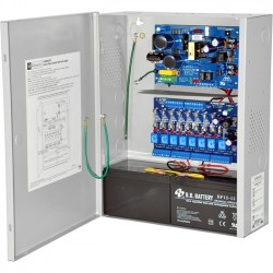 Altronix - AL400ACM220 - Altronix 8 Fused Outputs Power Supply/Access Power Controller. 12VDC @ 4A or 24VDC @ 3A. - 220 V AC Input Voltage - Wall Mount