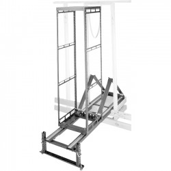 Middle Atlantic Products - AXSX12 - Middle Atlantic Products Rack Frame - 19 12U Wide - Black - 650 lb x Maximum Weight Capacity