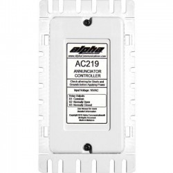 Alpha Communications - AC219 - Alpha AC219 Annunciator Control Unit for AlphaEcall and CM800 / DS100 - For Control Panel - Plastic