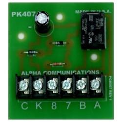 Alpha Communications - PK407A - Alpha PK407A - 16VAC Specialty Relay