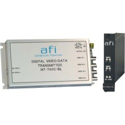 American Fibertek - MR-740C-SL - Afi Module Receiver - Single-mode - Standalone, Rack-mountable