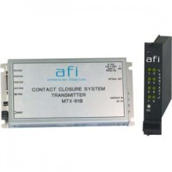 American Fibertek - MRX-81B - Afi 4 Channel Bi-directional Contact Closure System - Multi-mode - Standalone, Rack-mountable