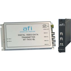 American Fibertek - MT-740C-SL - Afi MT-740C-SL Transceiver/Media Converter - Single-mode - Standalone