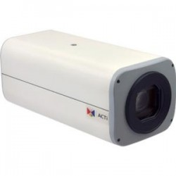 ACTi - B23 - ACTi B23 3 Megapixel Network Camera - Monochrome, Color - Motion JPEG, H.264 - 2048 x 1536 - 4.90 mm - 49 mm - 10x Optical - CMOS - Cable