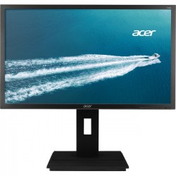 Acer - MM.LXQAA.003 - Acer B246HL 24 LED LCD Monitor - 16:9 - 5 ms - 1920 x 1080 - 16.7 Million Colors - 250 Nit - Full HD - Speakers - DVI - VGA - DisplayPort - Dark Gray