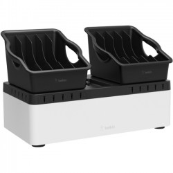 Belkin - B2B140 - Belkin Store and Charge Go With Portable Trays - Wired - Tablet, Notebook, Smartphone, iPad - Charging Capability