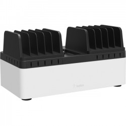 Belkin - B2B141 - Belkin Store and Charge Go with Fixed Dividers - Docking - iPad, Tablet, Notebook, Smartphone - Charging Capability