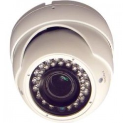 Appro Tech - CV7666EW - APPRO CV-7666EW Surveillance Camera - Color - 100 ft Night Vision - 2.80 mm - 12 mm - 4.3x Optical - Effio-E CCD - Cable - Dome - Ceiling Mount, Wall Mount