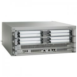 Cisco - ASR1004-20G-SEC/K9 - Cisco ASR1004-20G-SEC Aggregation Services Router - 8 x Shared Port Adapter, 1 x Route Processor, 1 x Embedded Service Processor