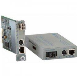 Omnitron - 8907-1-W - Omnitron Systems iConverter Fast Ethernet Media Converter - 1 x RJ-45 , 1 x LC - 10/100Base-TX, 100Base-FX - Internal