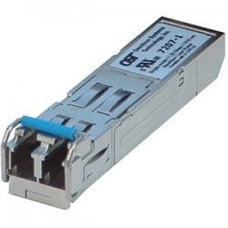 Omnitron - 7007-1-Z - Fast Ethernet SFP Module LC Single-Mode 30km Industrial Temp - 1 x 100BASE-LX Fiber Optical Transceiver