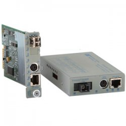 Omnitron - 8919-0-W - Omnitron Systems iConverter Fast Ethernet Media Converter - 1 x RJ-45 - 10/100Base-TX, 100Base-FX - 1 x SFP - Internal