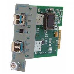 Omnitron - 7215-1 - 1250Mbps Gigabit Ethernet Single-Fiber SFP (mini-GBIC) Module LC BiDi Single-mode 20km - 1 x 1000BASE-BX-D (1550/1310) Fiber Optical Transceiver