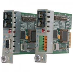 Omnitron - 8783-1 - iConverter RS-422/485 Serial to Fiber Media Converter DB-9 SC Single-Mode 30km Module - 1 x RS-422/485; 1 x SC Single-Mode; Internal Module; Lifetime Warranty