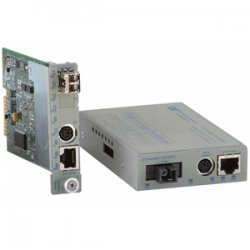 Omnitron - 8900-0-W - Omnitron Systems iConverter Fast Ethernet Media Converter - 1 x RJ-45 , 1 x ST Duplex - 10/100Base-TX, 100Base-FX - Internal