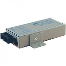 Omnitron - 1102-0-2 - miConverter 10/100 Ethernet Fiber Media Converter RJ45 SC Multimode 5km - 1 x 10/100BASE-TX, 1 x 100BASE-FX, Univ. AC Powered, Lifetime Warranty