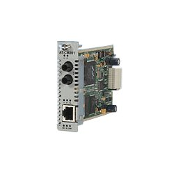 Allied Telesis - AT-CM301 - Allied Telesis Converteon AT-CM301 Fast Ethernet Line Card - 1 x RJ-45 , 1 x ST Duplex - 10/100Base-TX, 100Base-FX