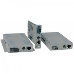 Omnitron - 8939N-0 - Omnitron Systems iConverter 8939N-0 Gigabit Ethernet Media Converter - 1 x RJ-45 - 10/100/1000Base-T, 1000Base-X - 1 x SFP (mini-GBIC) - Internal