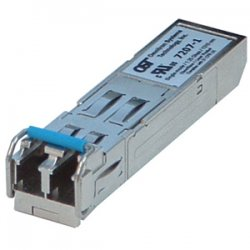Omnitron - 7343-1 - Omnitron Systems 7343-1 CDWM SFP Optical Transceiver - 1 x 1000Base-X