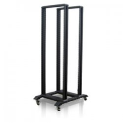 "iStarUSA - WO36AB - iStarUSA WO Series 4-Post Open Frame Rack - 23"" 36U"