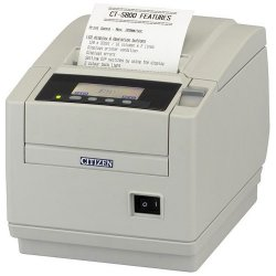 Citizen - CT-S801S3RSUWHP - Citizen CT-S801 POS Thermal Receipt Printer - Monochrome - 300 mm/s Mono - 203 dpi - Serial