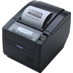 Citizen - CT-S801S3ETUBKP - Citizen CT-S801 POS Thermal Receipt Printer - Monochrome - 300 mm/s Mono - 203 dpi - Network - Fast Ethernet