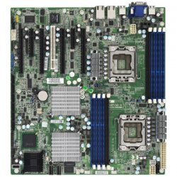 Tyan Computer - S7025WAGM2NR - Tyan S7025WAGM2NR Server Motherboard - Intel 5520 Chipset - Socket B LGA-1366 - SSI EEB - 2 x Processor Support - 64 GB DDR3 SDRAM Maximum RAM - 1.33 GHz Memory Speed Supported - 8 x Memory Slots - Serial Attached SCSI