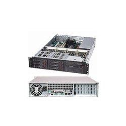 Supermicro - CSE-822T-400LPB - Supermicro SC822T-400LPB Chassis - Rack-mountable - Black