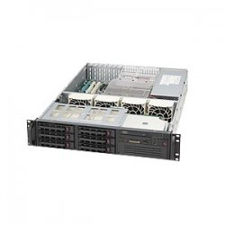 Supermicro - CSE-823TQ-650LPB - Supermicro SC823TQ-650LPB Chassis - Rack-mountable - Black