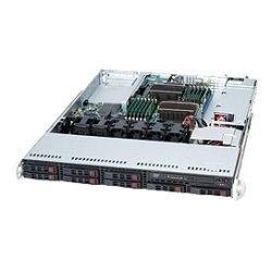 Supermicro - CSE-113TQ-560UB - Supermicro SC113TQ-560UB Chassis - 1U - Rack-mountable - 9 Bays - 560W - Black