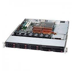 Supermicro - CSE-113TQ-700CB - Supermicro SC113TQ-700CB Chassis - 1U - Rack-mountable - 9 Bays - 700W - Black