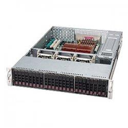 Supermicro - CSE-216E2-R900LPB - Supermicro SC216E2-R900LPB Chassis - 2U - Rack-mountable - 24 Bays - 900W - Black