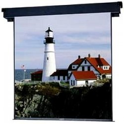 "Da-Lite - 40720 - Da-Lite Boardroom Electrol Projection Screen - 60"" x 60"" - Matte White - 85"" Diagonal"